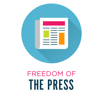 Freedom of the press.