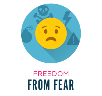 Freedom from fear.