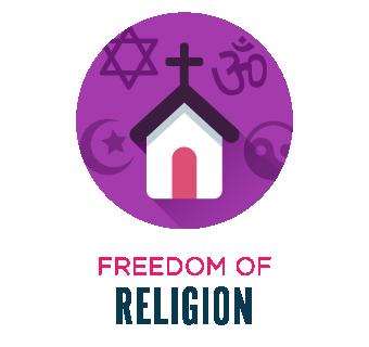Freedom of religion.